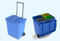 Cubo selectiva transportable  - Cubo selectiva transportable